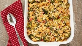 Cheesy Ranch Broccoli Bake