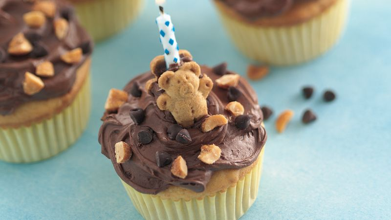 Teddy Bear Cupcakes Recipe Bettycrocker Com