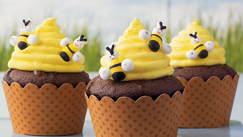 Beehive Cupcakes