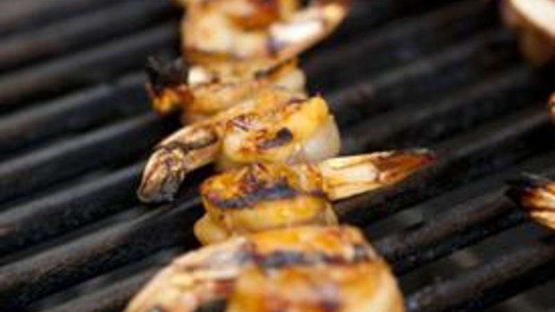 Teriyaki Shrimp Kabobs