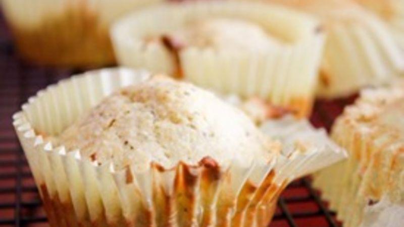 Pesto Cornbread Muffins