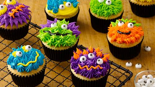 halloween cupcake recipes bettycrocker com rh bettycrocker com