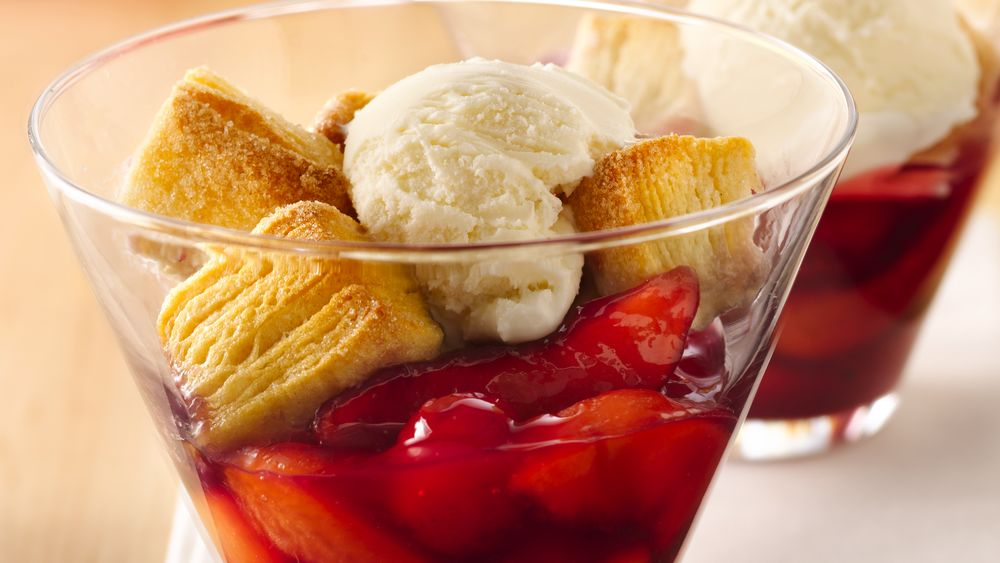 Cherry-Peach Biscuit Cobbler