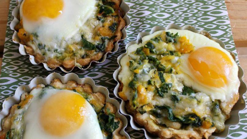 Collard Greens and Egg Tarts