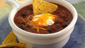 Barbecue Black Bean Chili