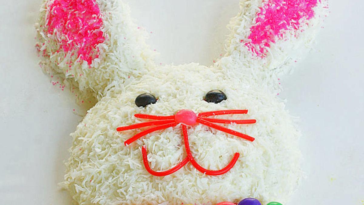 how to make a easter bunny rabbit cake bettycrocker com