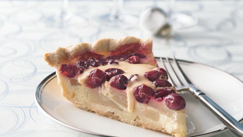 Pear and Cranberry Pie