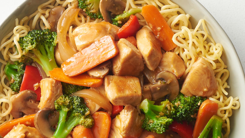 Chicken And Broccoli Stir Fry Recipe Bettycrocker Com