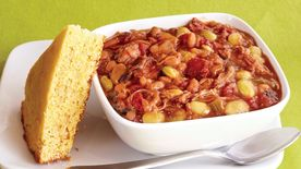 Slow-Cooker Pork and Bean Stew