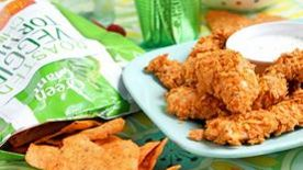 Veggie-Cheddar Chip Chicken Tenders