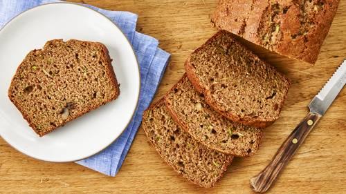 Skinny Zucchini Bread image