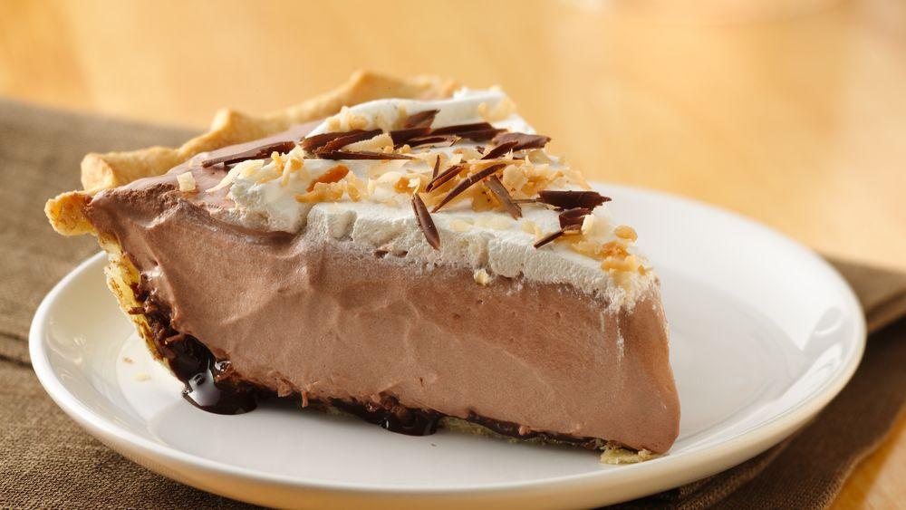 Toasted Coconut Mochaccino Pie