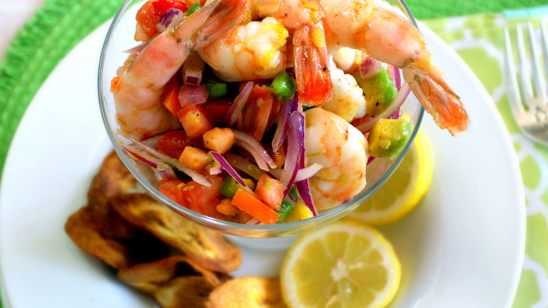 Shrimp Ceviche with Mango and Avocado