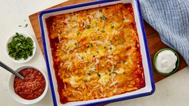 Easy Beef Enchiladas for Two