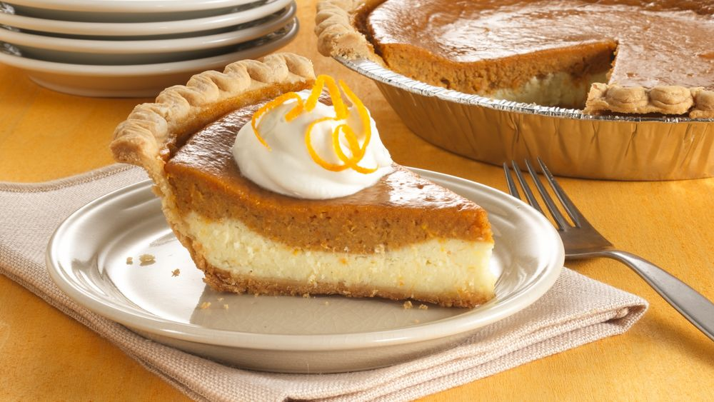 Cream Cheese-Sweet Potato Pie