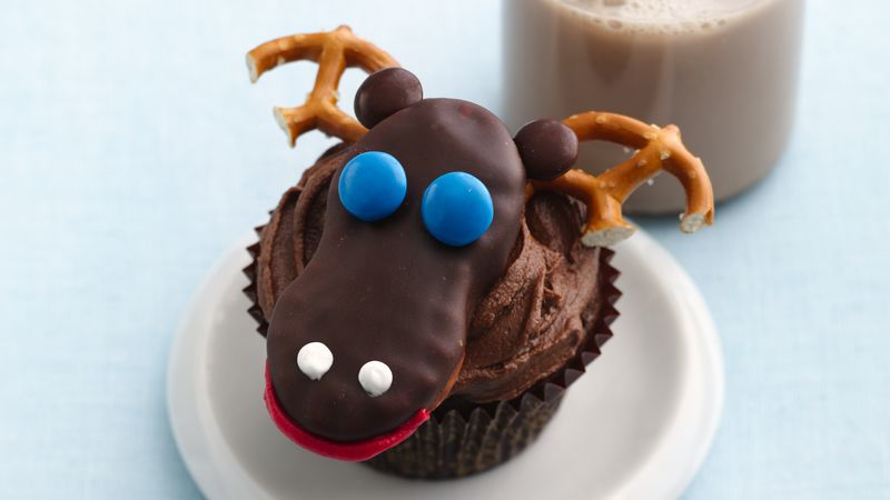 Chocolate Moose Cupcakes Recipe Bettycrocker Com