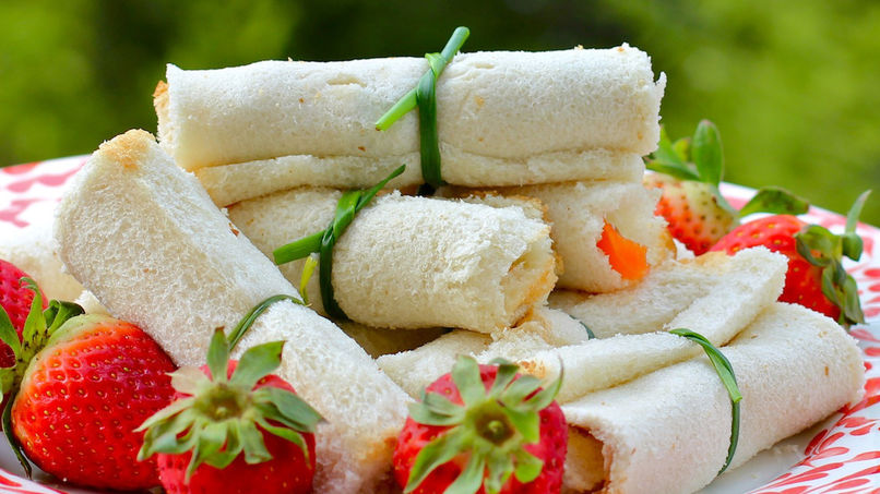 Diploma-Shaped Sandwiches