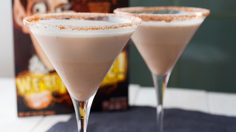 Spooky White Russian Cocktails