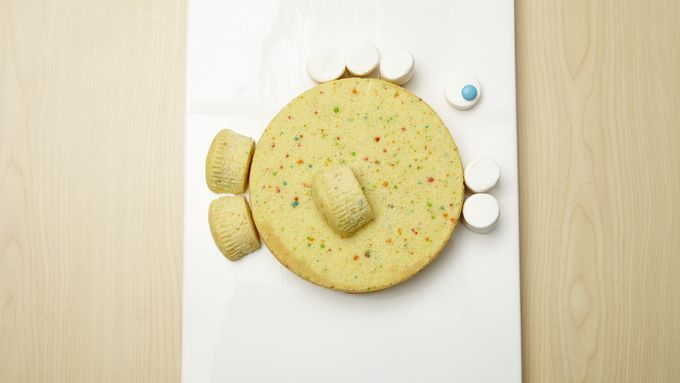 Big Fish Cake And Little Fish Cupcakes Recipe