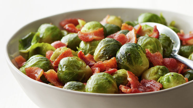Instant Pot® Brussels Sprouts and Bacon