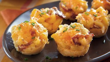 Bacon Mac 'n' Cheese Bites