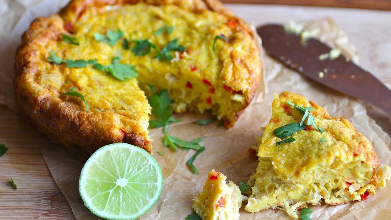 Codfish Omelet