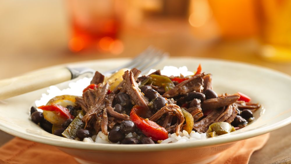 Slow-Cooker Cuban Flank Steak