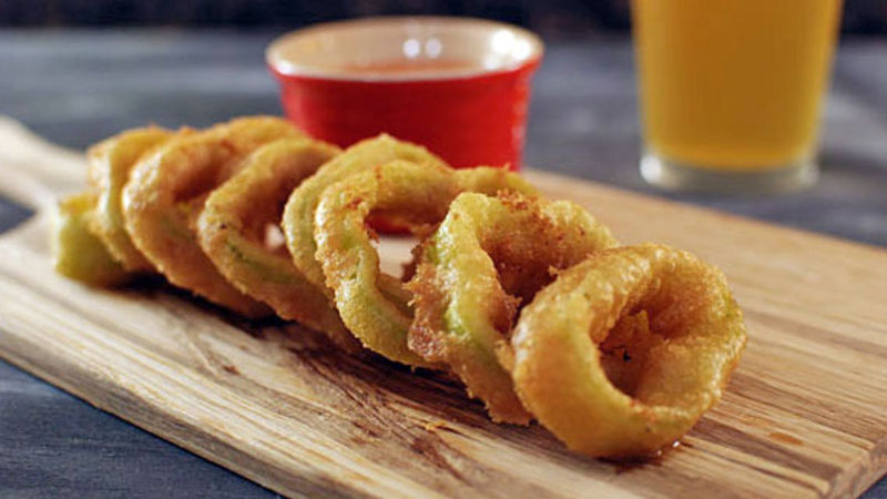 Crispy Pepper Rings