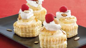 Almond-Cream Puff Pastries