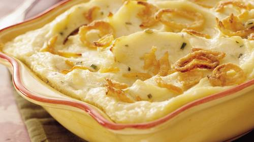 Make-Ahead Sour Cream and Chive Mashed Potatoes image