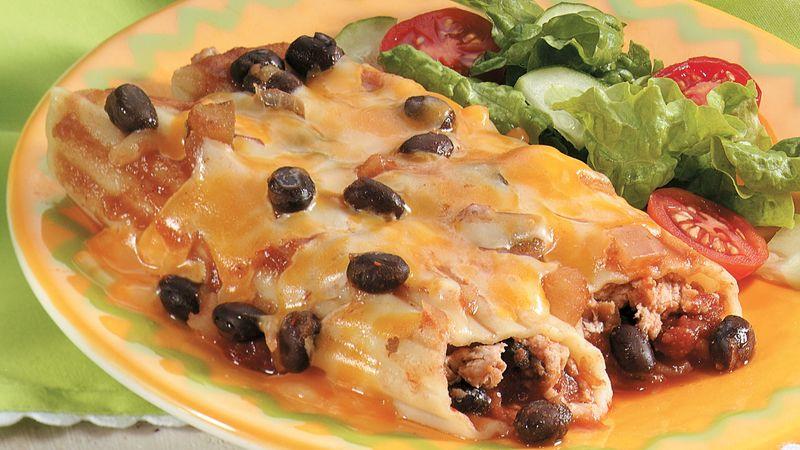 Chicken Manicotti Olé