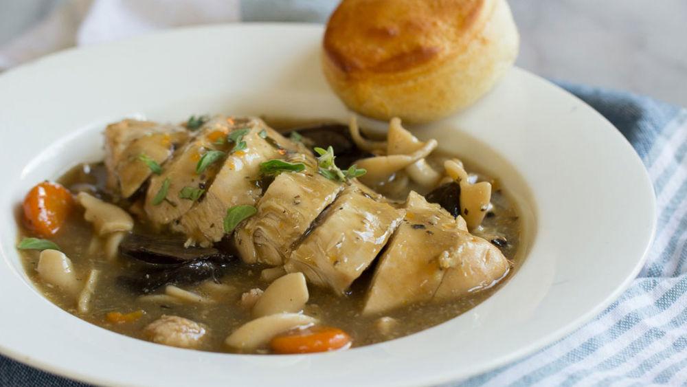 Easy Slow-Cooker Chicken Marsala