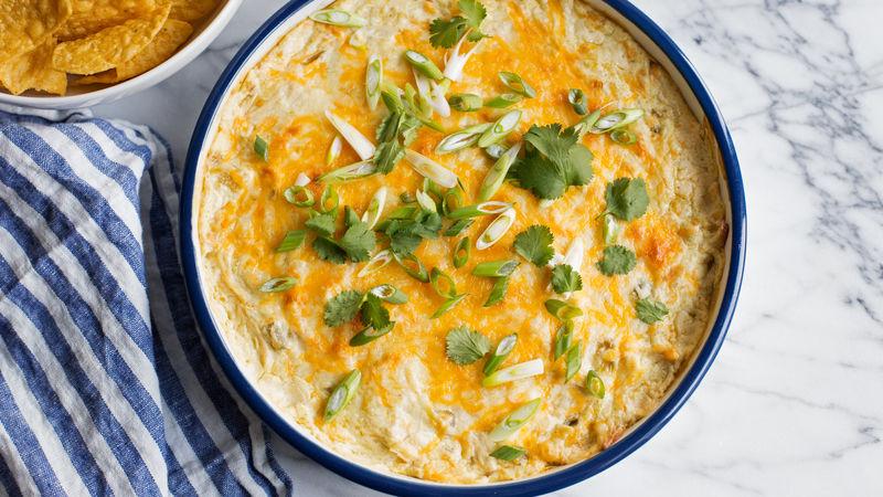 White Chicken Enchilada Dip