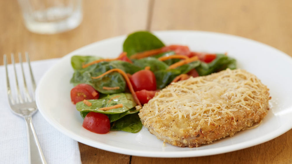 Parmesan and Herb Pork Chops