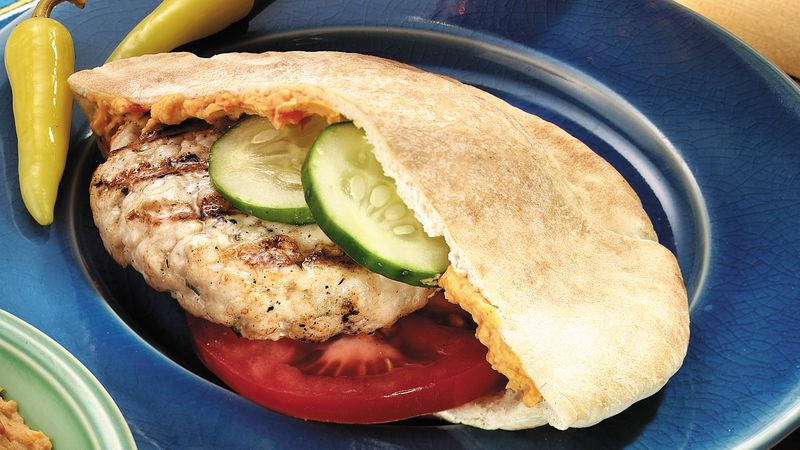Greek Chicken Burgers