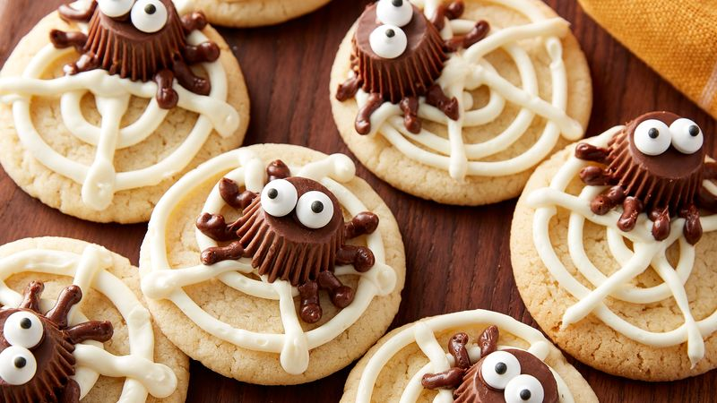 Cute Spider Cookies