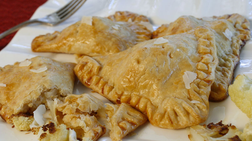 Cauliflower and Parmesan Cheese Empanadas