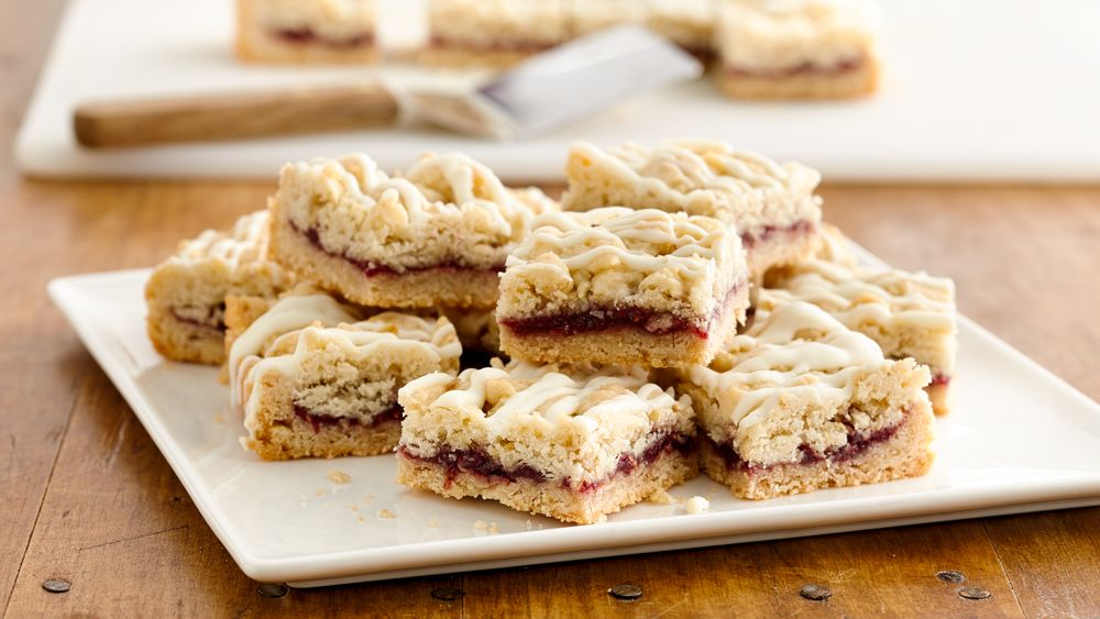 Raspberry White Chocolate Cookie Bars