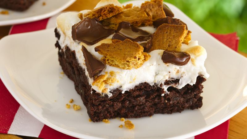 S'mores Brownies Recipe - Tablespoon.com