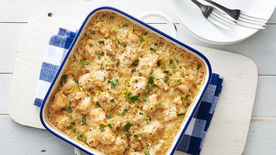 Parmesan-Lemon Chicken Bake