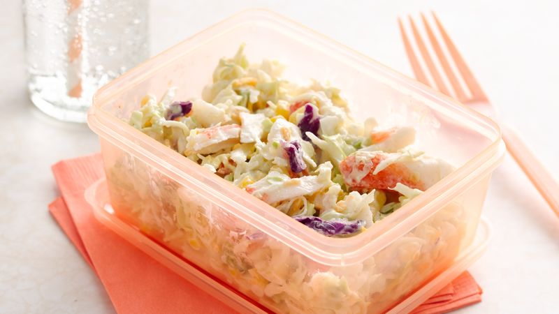 Key Lime Crab Slaw Salad