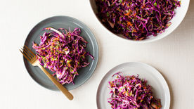 Red Cabbage Mojo Slaw