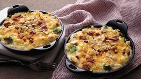 Bacon-Broccoli Mac and Cheese