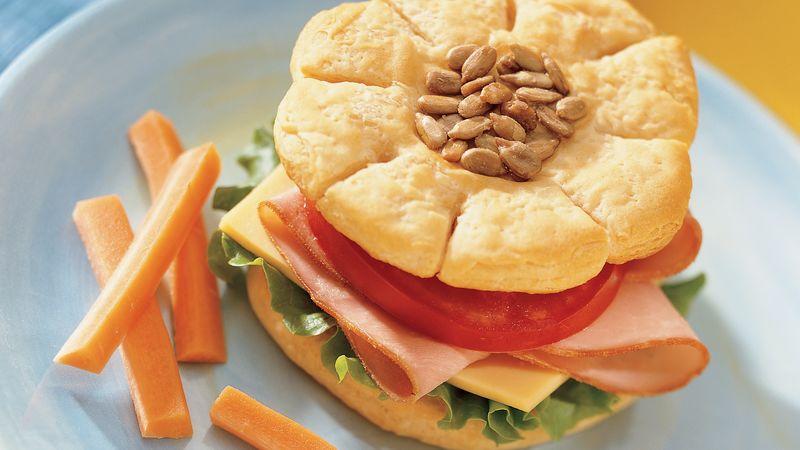 Sunflower Sandwiches