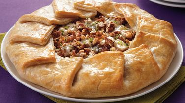Pear and Caramelized Onion Galette
