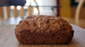 Bran Date Quick Bread