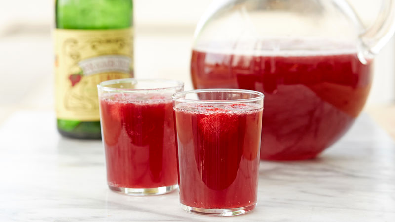 Raspberry Beer Hard Lemonade