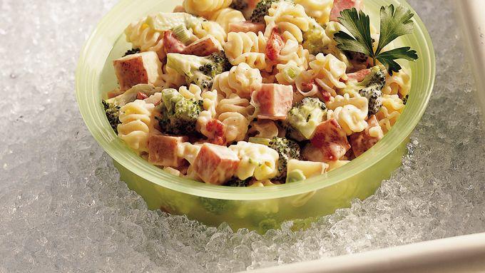 Ranch Ham and Pasta Salad