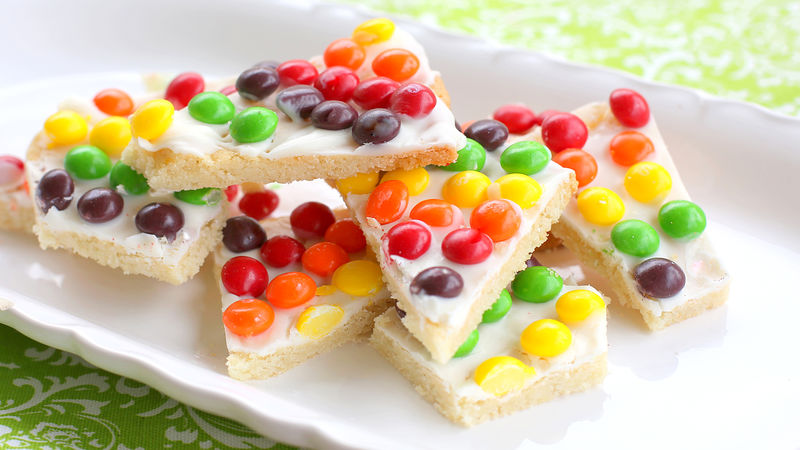 Rainbow Sugar Cookie Bark