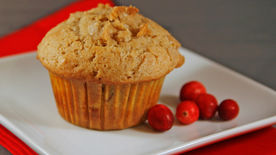 Streusel-Topped Cranberry Coffee Cake Muffins